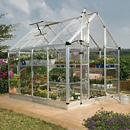 Palram Snap & Grow 6X8 Polycarbonate Greenhouse