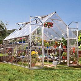 Palram Balance 8X12 Polycarbonate Greenhouse