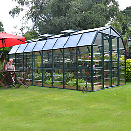Rion Grand Gardner 8X16 Acrylic Glass Greenhouse
