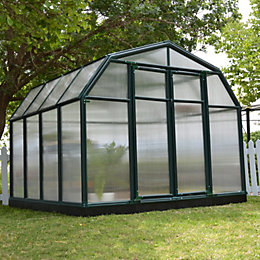 Rion Hobby Gardner 8X8 Acrylic Glass Twinwall Greenhouse