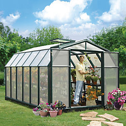 Rion Hobby Gardner 8X12 Acrylic Glass Twinwall Greenhouse