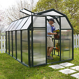Rion Eco Grow 6X10 Acrylic Glass Twinwall Greenhouse