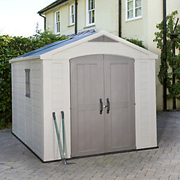 8X11 Apex Plastic Shed