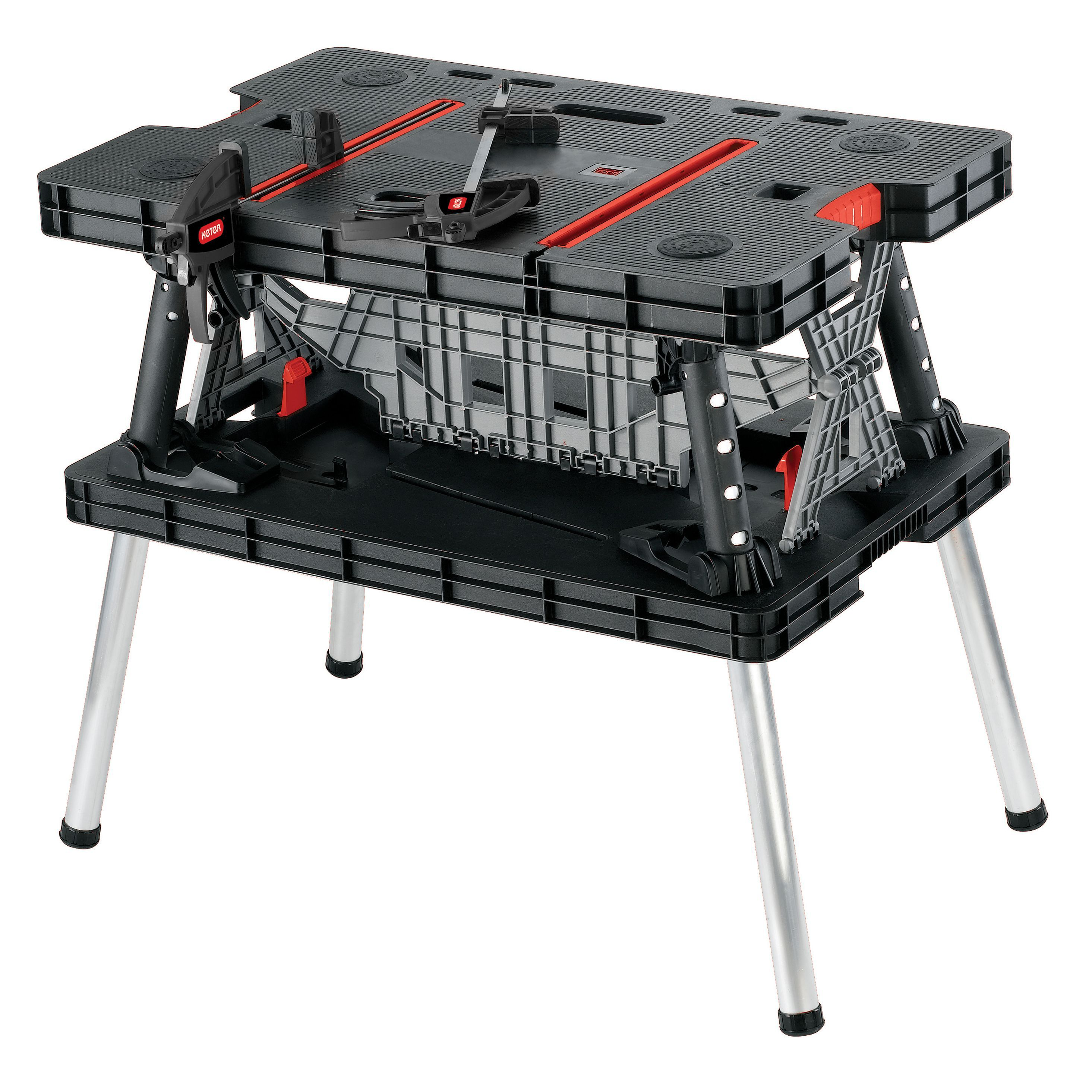 folding metal workbench. folding metal workbench e