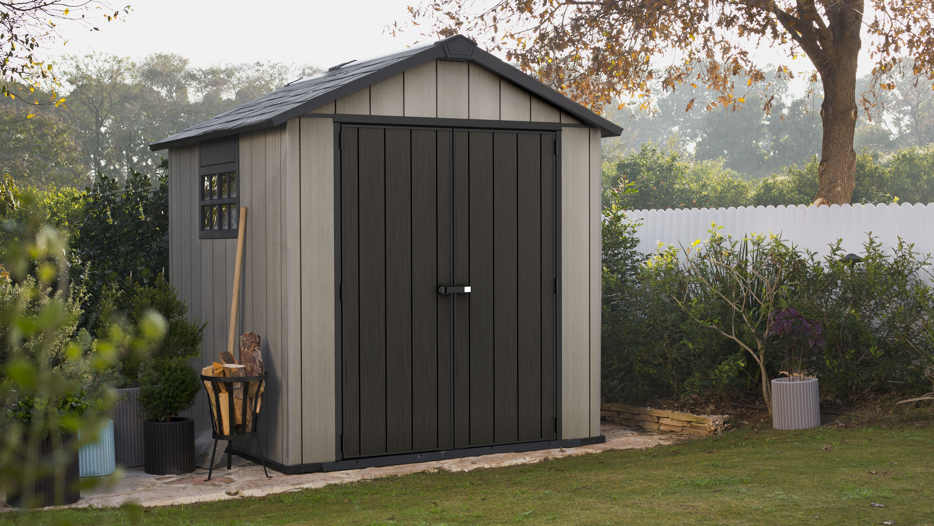7X7 Oakland Apex Shed
