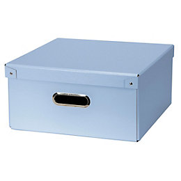 Blue Recycled Fibreboard Storage Box