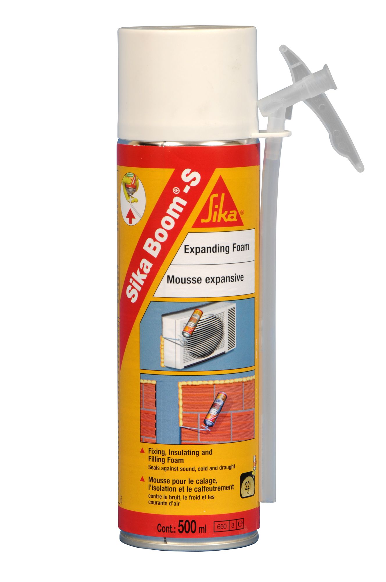 Sika Beige Expanding Foam 500 Ml Departments Tradepoint