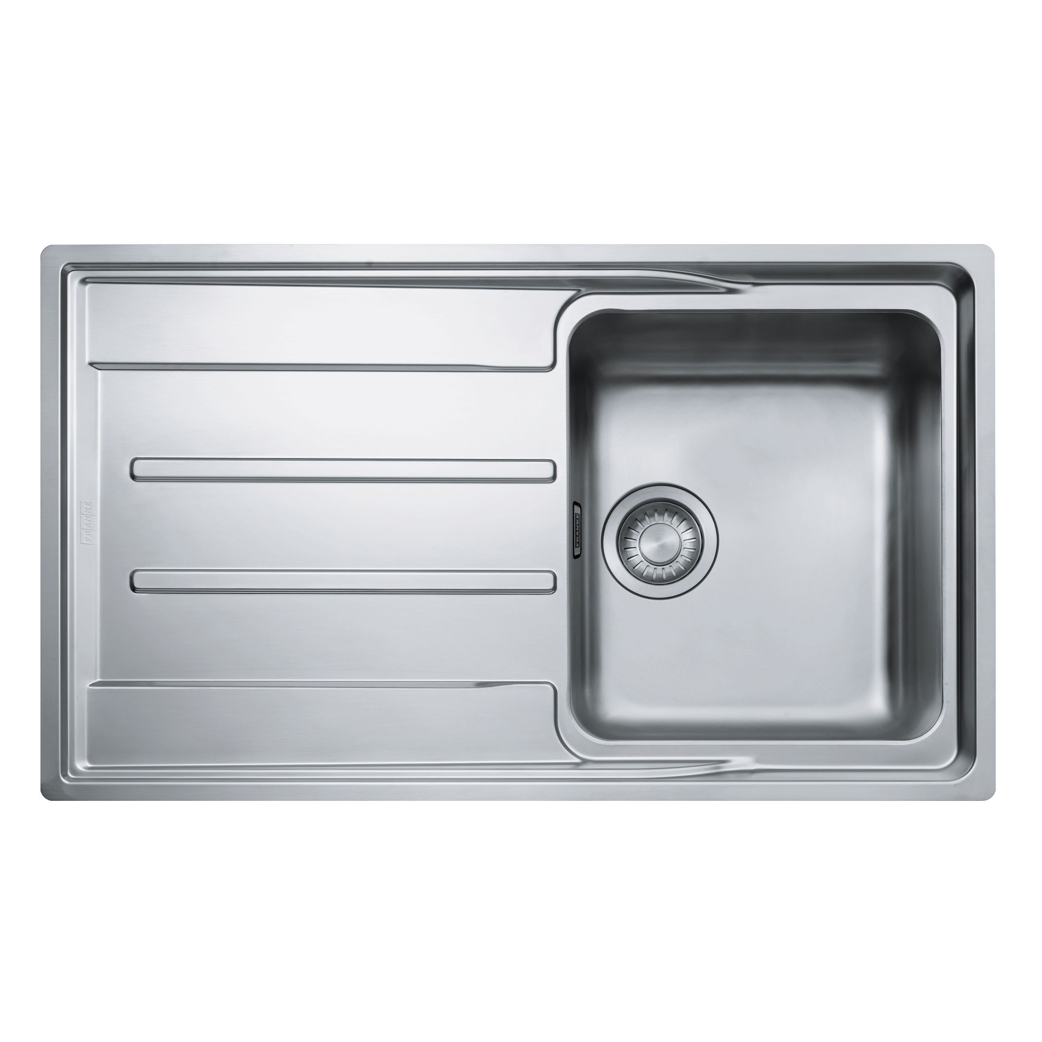 ... Stainless Steel Sink with Reversible Drainer Departments DIY at B