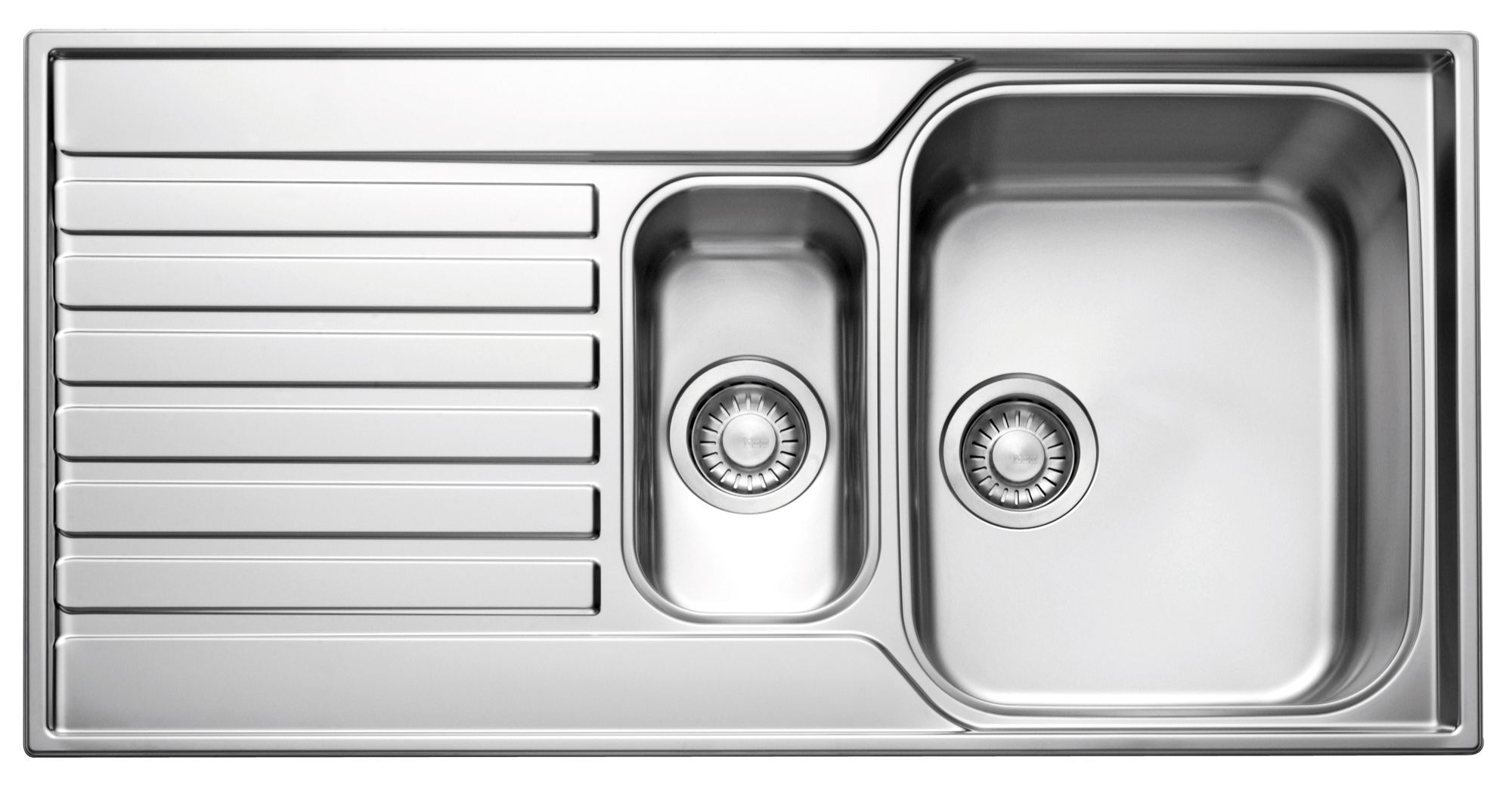 double bowl sinks | kitchen sinks | kitchen | departments | diy at b&q