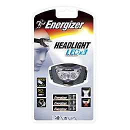 Energizer 33lm Plastic LED Black Headlight