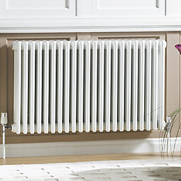 Acova 4 Column Radiator, White (W)812mm (H)600mm