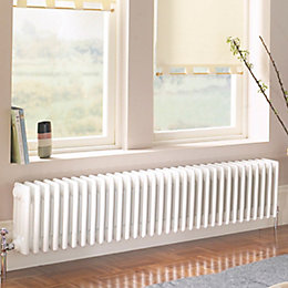 Acova 4 Column Radiator, White (W)1042 mm (H)300