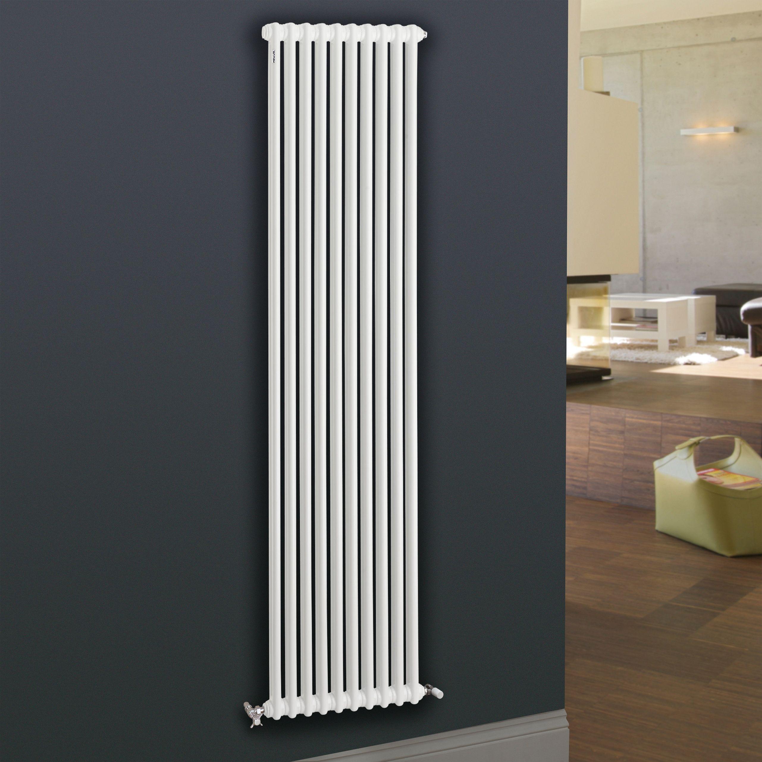 acova 4 column radiator white w 812 mm h 600 mm. Black Bedroom Furniture Sets. Home Design Ideas