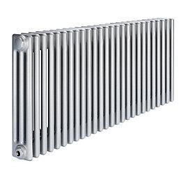 Acova 3 Column Radiator, Silver (W)1226 mm (H)600