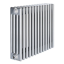 Acova 4 Column Radiator, Silver (W)628 mm (H)600