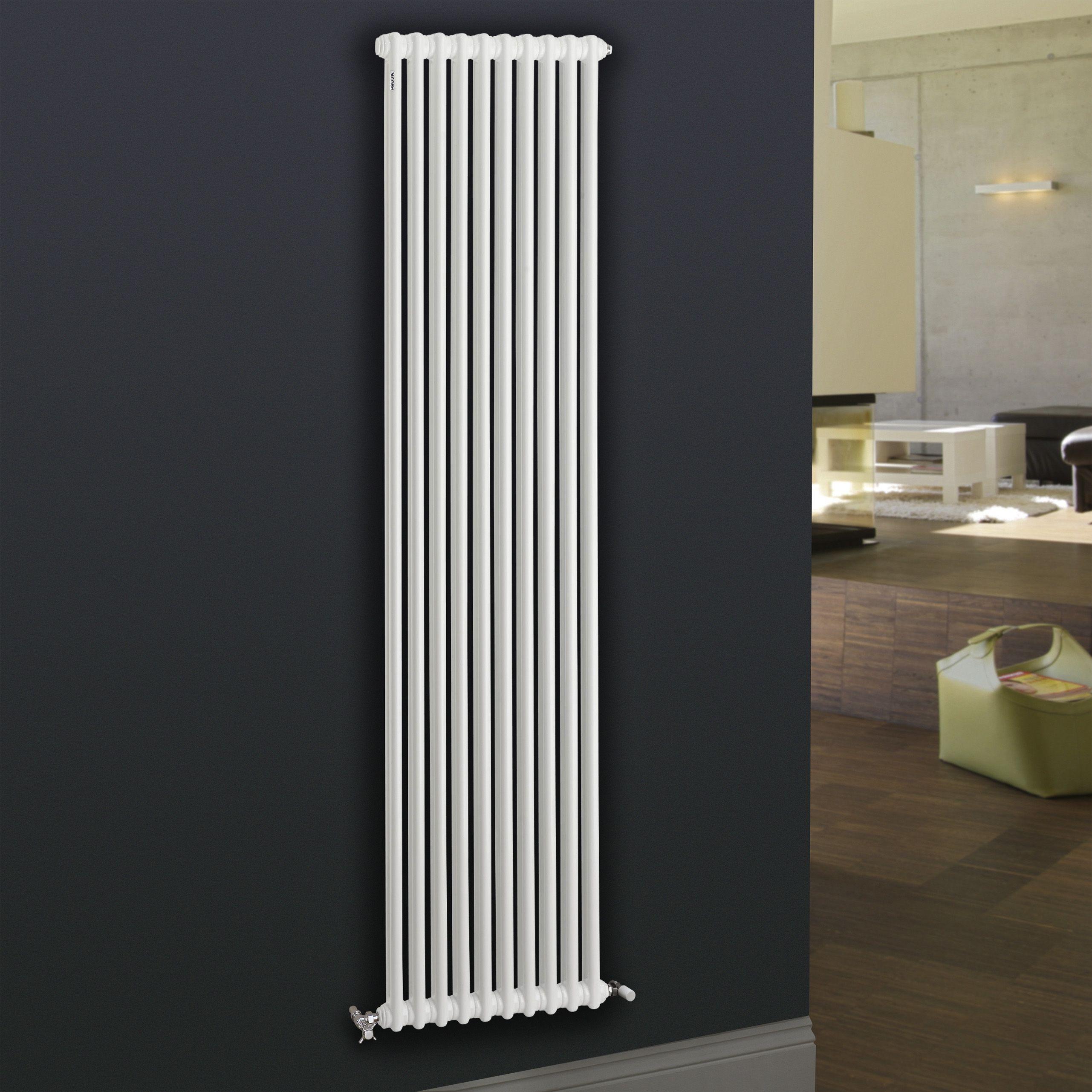 Acova 2 Column Radiator White W 444mm H 1800mm