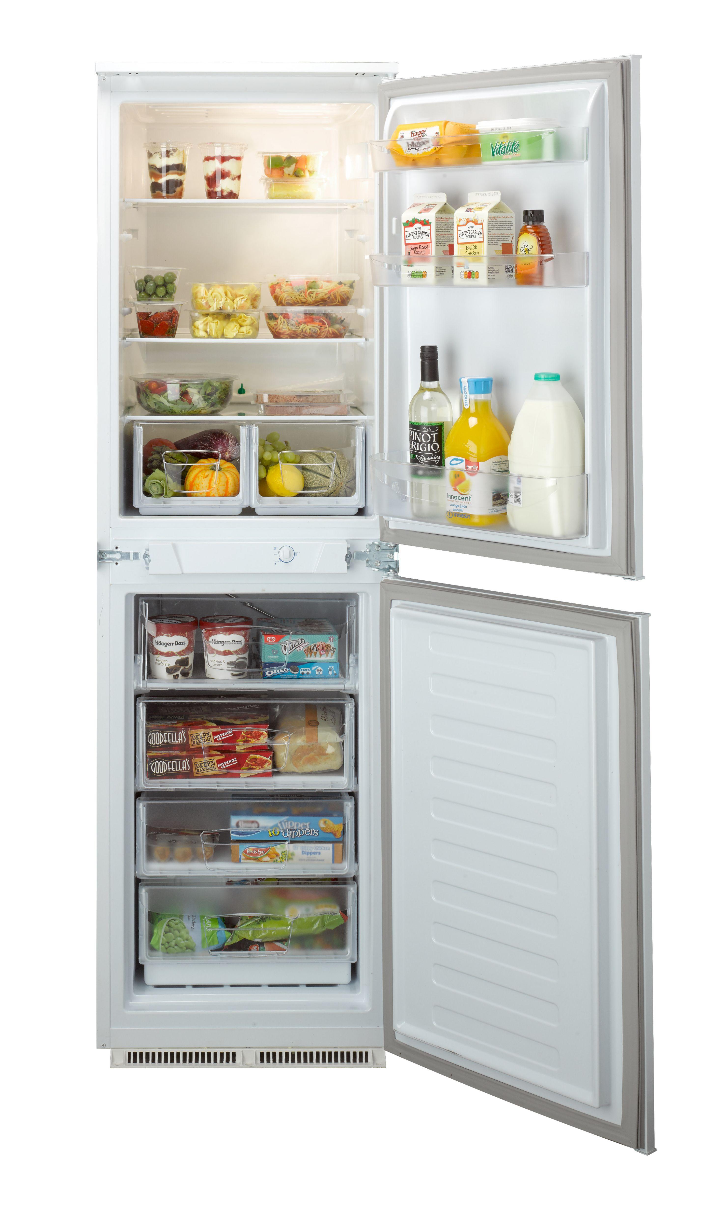 Indesit In Cb 310 Aa 4d White Fridge Freezer Departments