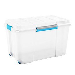 Kis Clear 106L Plastic Storage Box
