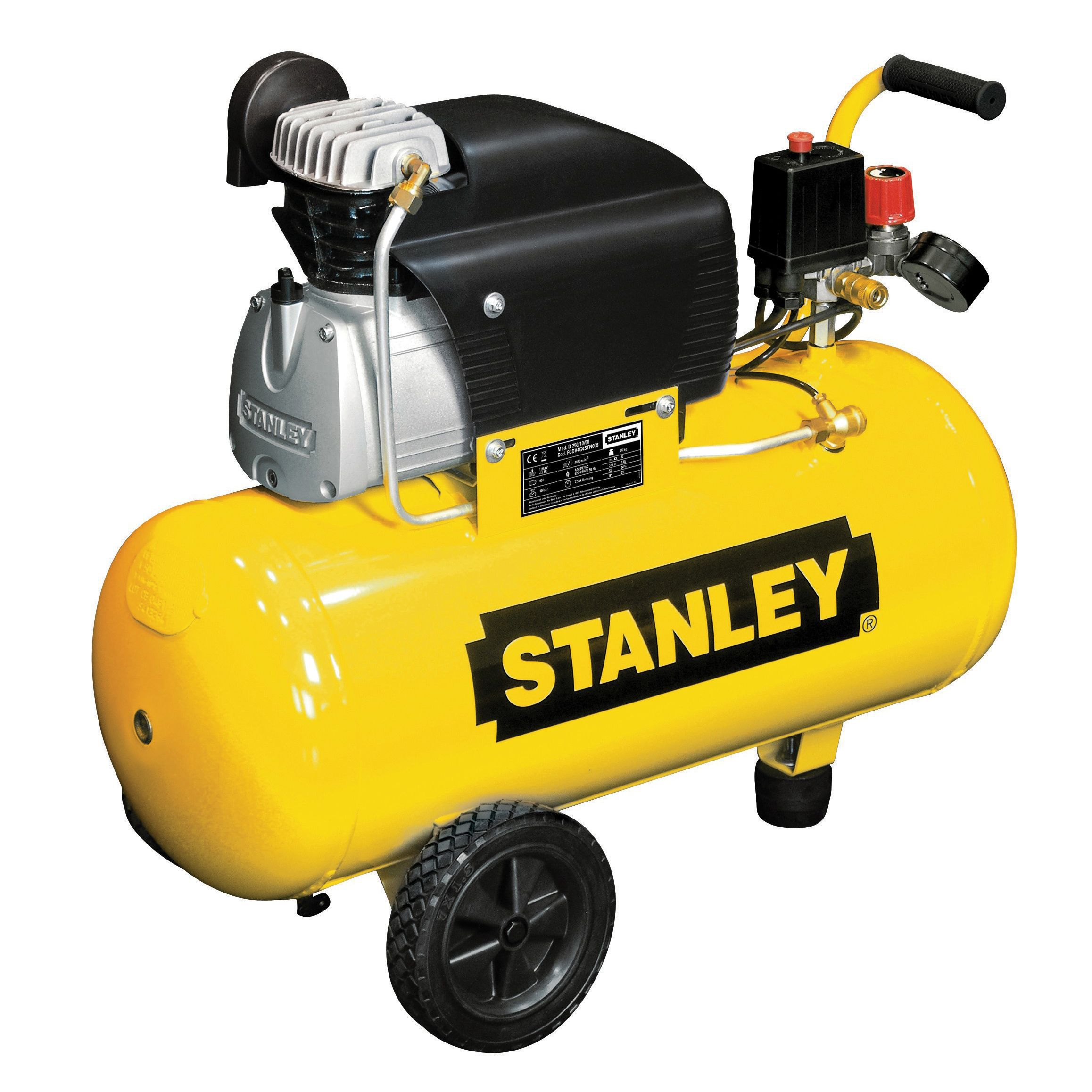 Stanley 50l Compressor Fcdv4g4scr006 Departments Diy
