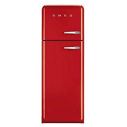 Smeg FAB30LFR Red Freestanding Fridge Freezer