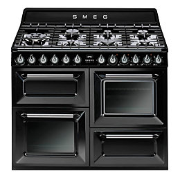 Smeg Dual Fuel Range Cooker with Gas Hob,