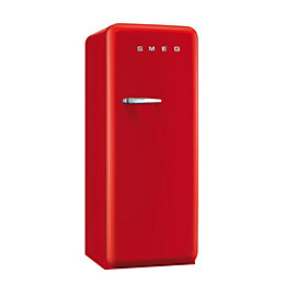Smeg CVB20RR1 50's Retro Red Freestanding Freezer