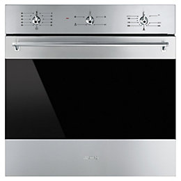 Smeg SF6341GVX Gas Single Oven