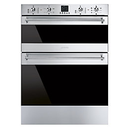 Smeg SF6341GVX Stainless Steel Electric Double Oven