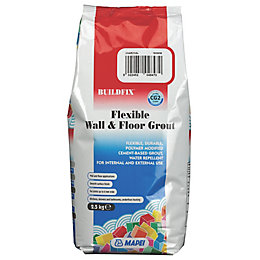 Mapei Flexible Charcoal Wall & Floor Grout (W)2.5kg