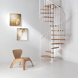 Fontanot Oak70 Spiral Staircase (D)130 cm
