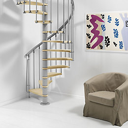 Fontanot Nice Spiral Staircase (D)110 cm