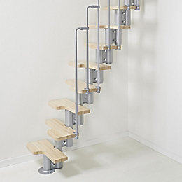 Fogarty Space Saver Staircase (W)600mm (H)2640mm