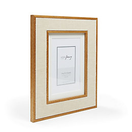 Linen Cream Photo Frame (W)208mm (H)258mm
