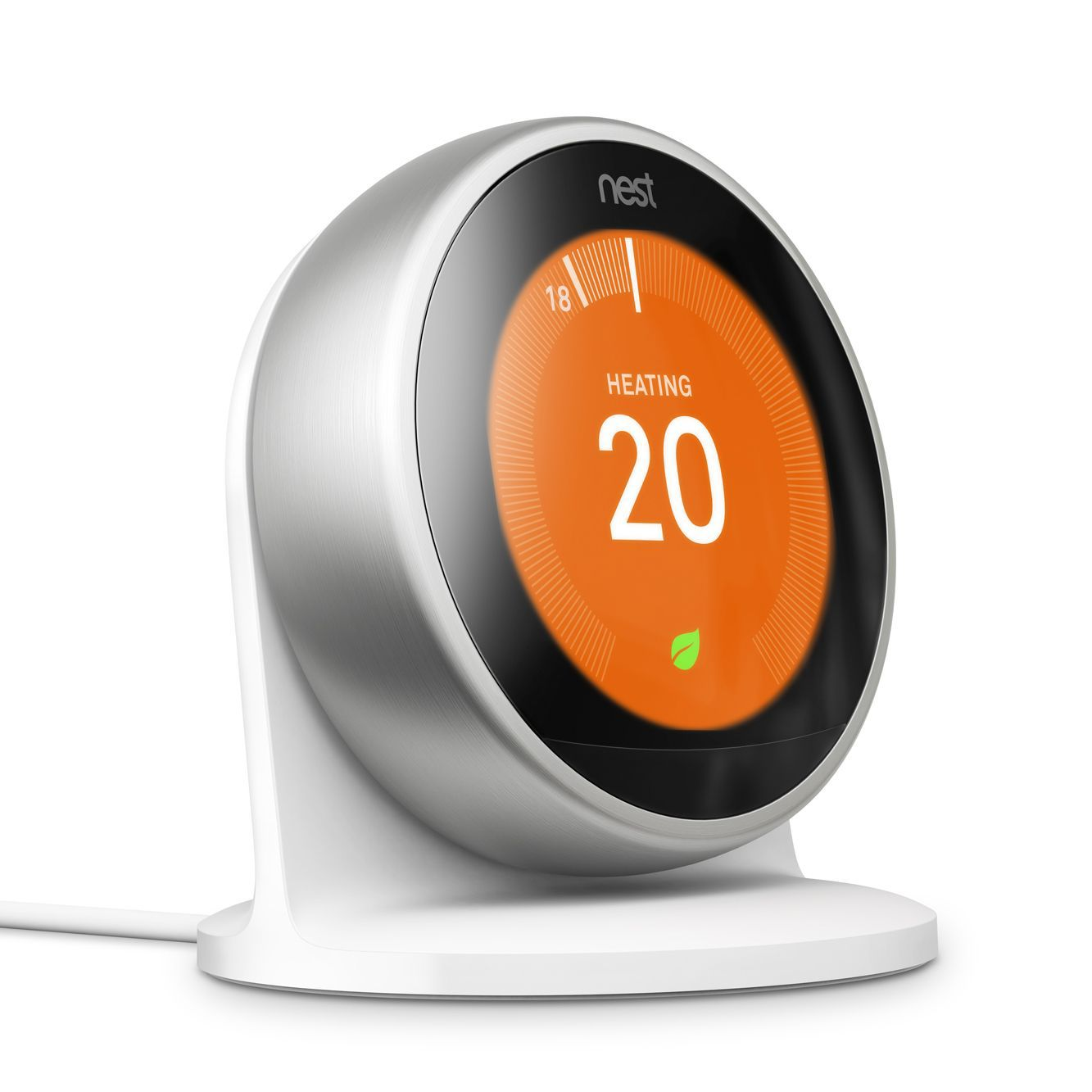 jg aura heating control departments diy at b q nest learning thermostat stand 3rd generation