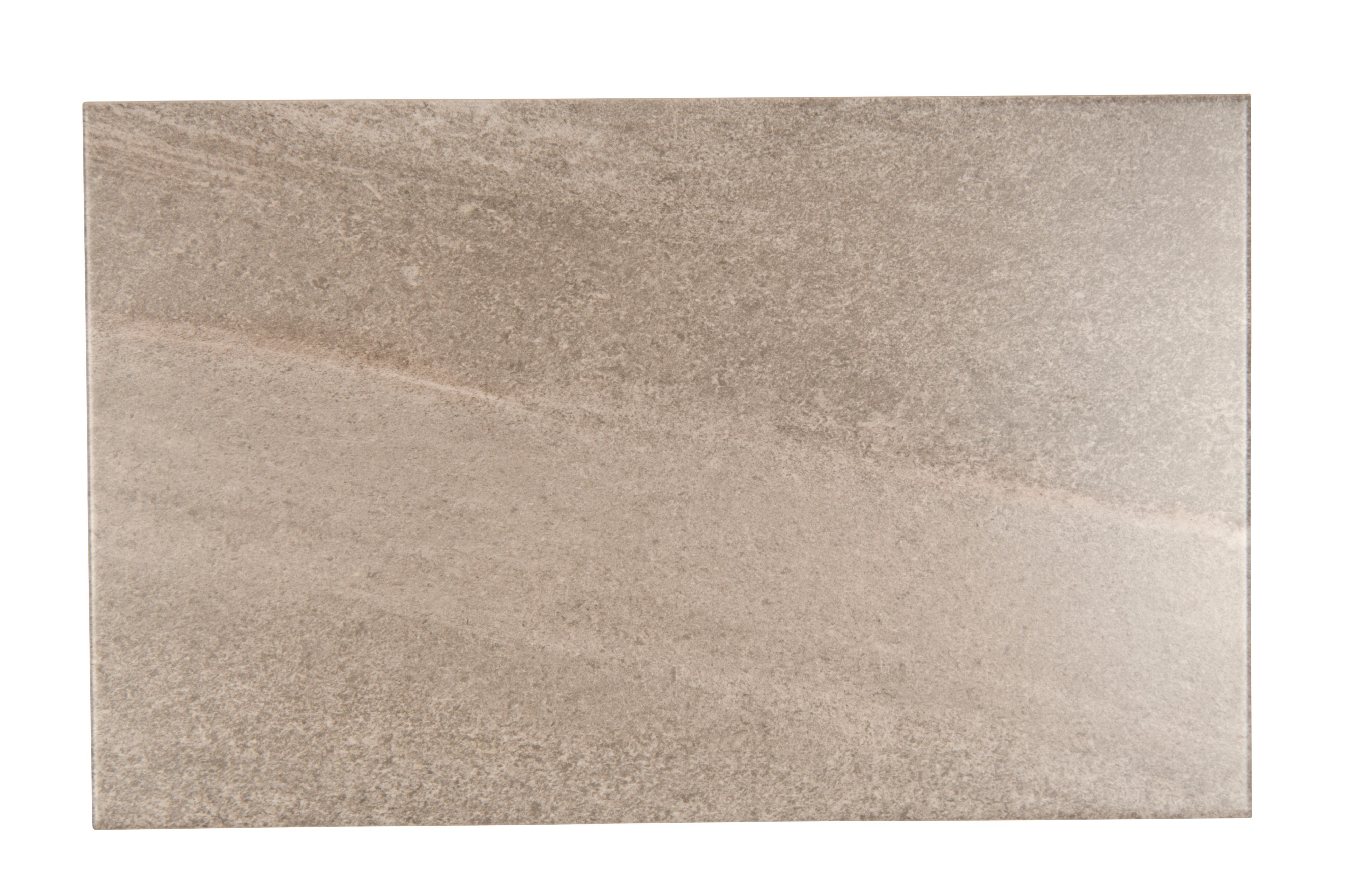 Diy at bq fiji grey stone effect ceramic wall tile pack of 10 l400mm dailygadgetfo Images