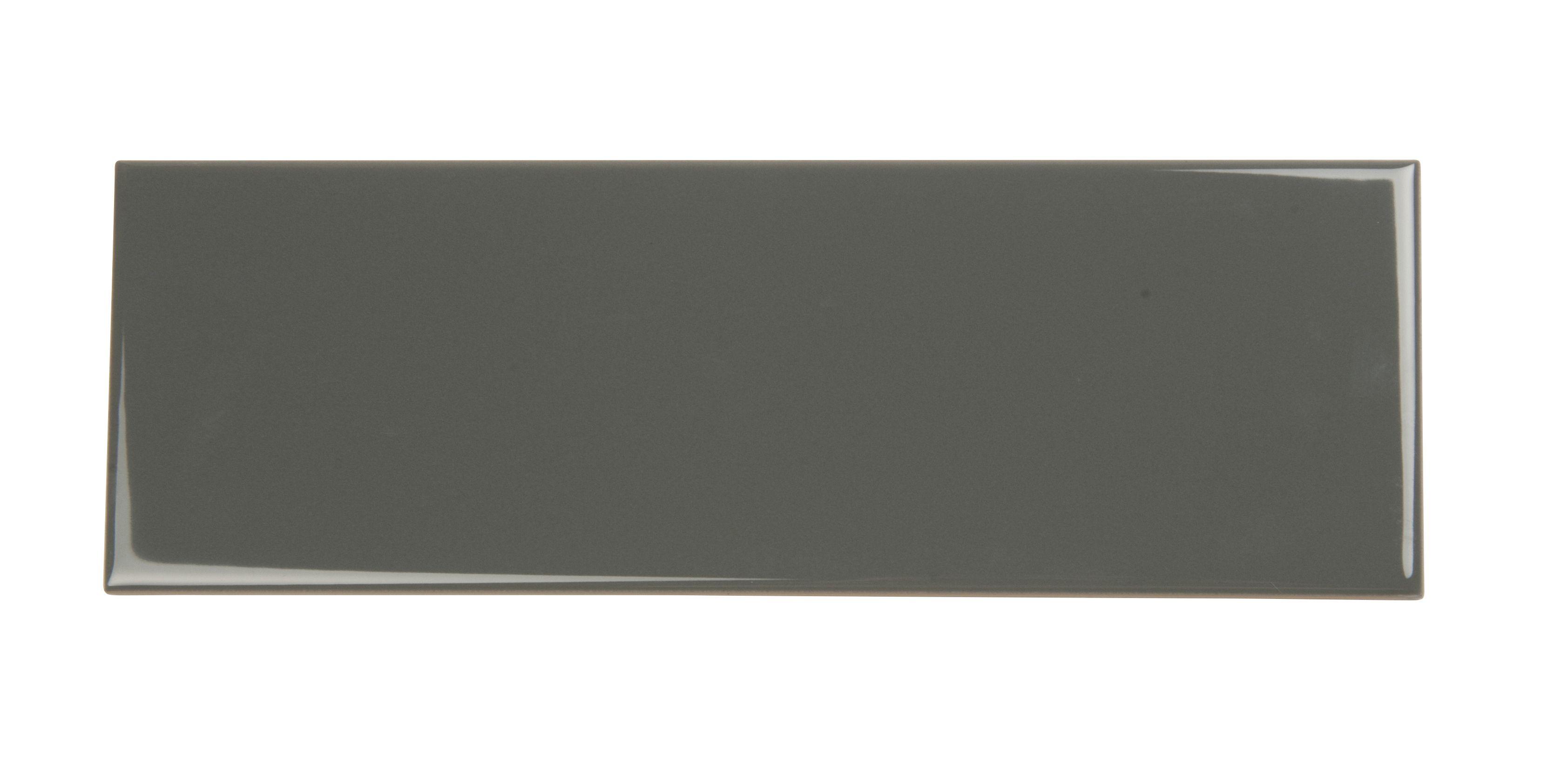 Wellington Grey Ceramic Wall Tile, Pack Of 33, (l)300mm (w)100mm