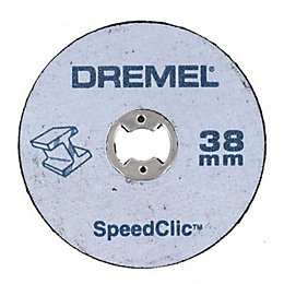 Dremel SpeedClic (Dia)38mm Cutting Disc