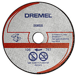 Dremel DSM510 (Dia)20mm Cutting Disc