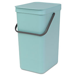 Brabantia Sort & Go Mint Green Plastic Rectangular