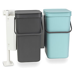 Brabantia Sort & Go Built-In Mint & Grey