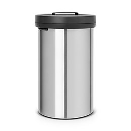 Brabantia Matt Steel Metal Round Big Bin, 60L