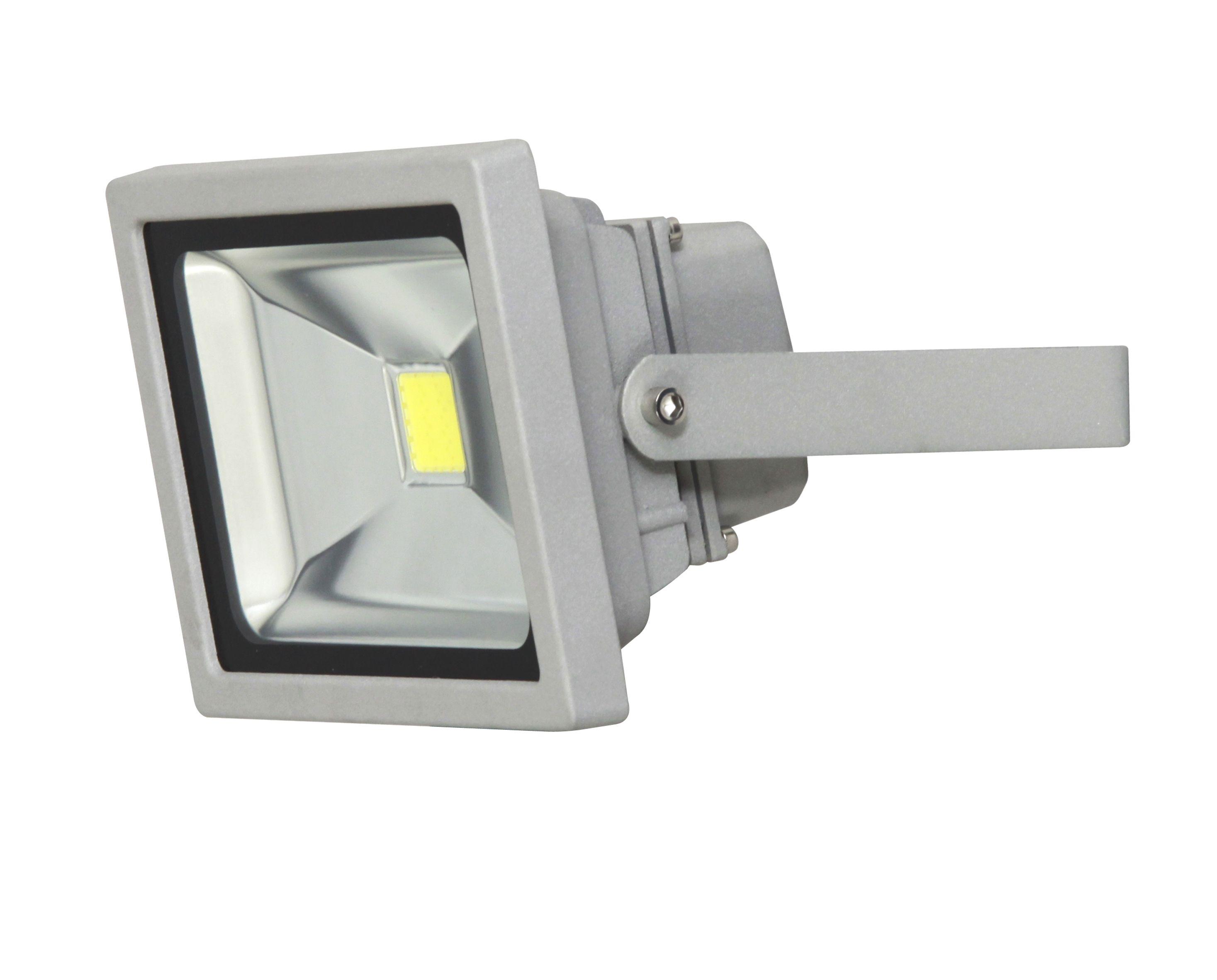 External Flood Light >> XQ-Lite Silver 20W Mains Powered External Pir Security Flood Light | Departments | DIY at B&Q
