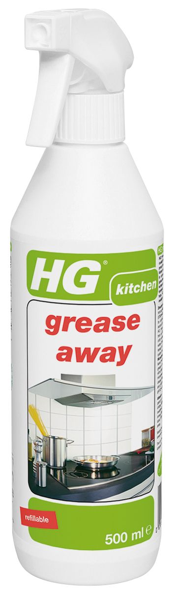 Hg Grease Away Kitchen Cleaner Spray 500 Ml Departments Diy At B Q