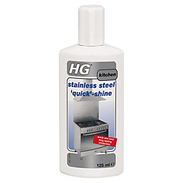 HG Quick Shine Stainless Steel Cleaner, 125 ml
