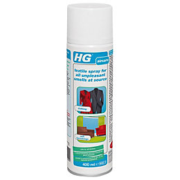 HG Unpleasant Smell Textile Spray, 400 ml
