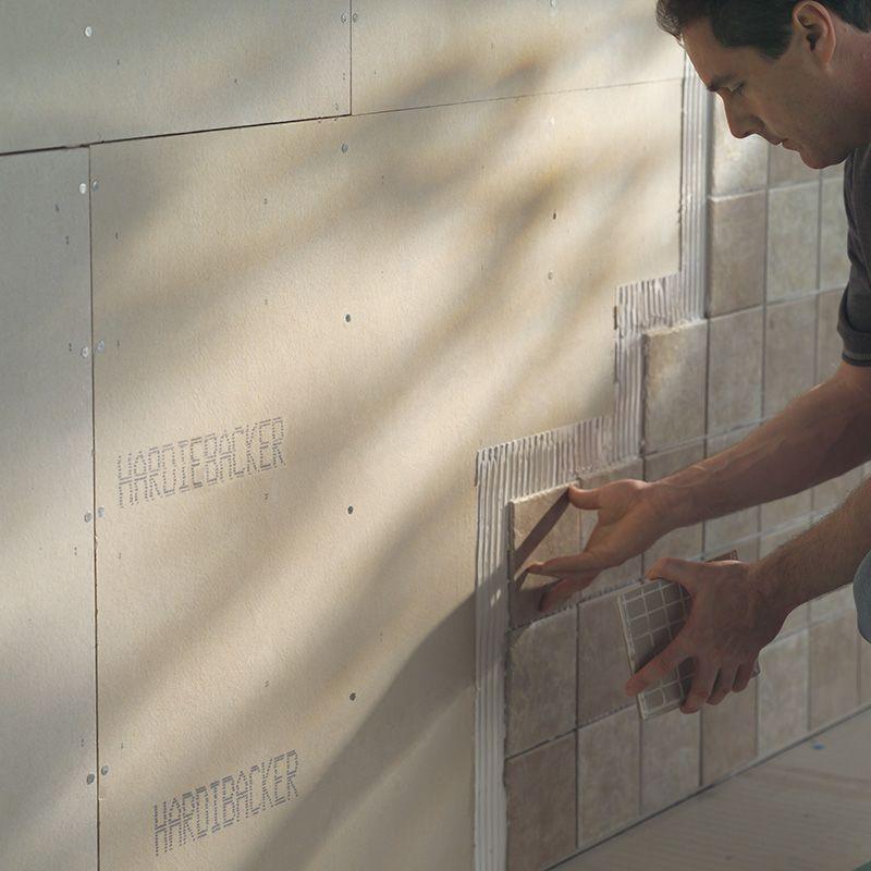 HardieBacker 12mm Cement Backerboard For Tile & Stone (L)1200mm (W ...