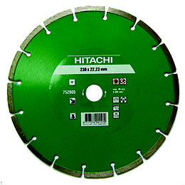 Hitachi (Dia)230mm Diamond Cutting & Grinding Blade