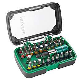 Hitachi Driver Bit Set, 32 Pieces