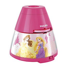 Disney Princess Pink Projector Lamp