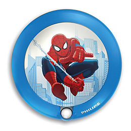 Marvel Spider Man Blue Sensor Night Light